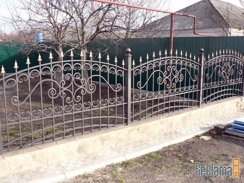 заборы и ворота из метала